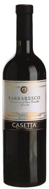 Barbaresco D.O.C.G, Piemonte, Italy, Fratelli Casetta