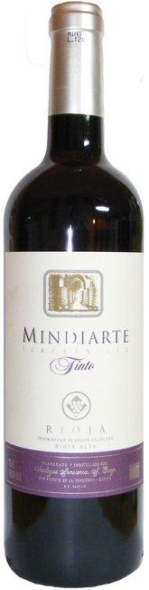 Rioja Tinto, Mindiarte, Bodegas Sonsierra