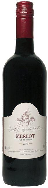 Le Sauvage de la Brie - Merlot VDF, Vin de France, Domaine Auguste Bonhomme